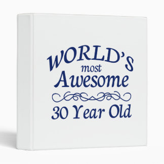 World's Most Awesome 30 Year Old Binder