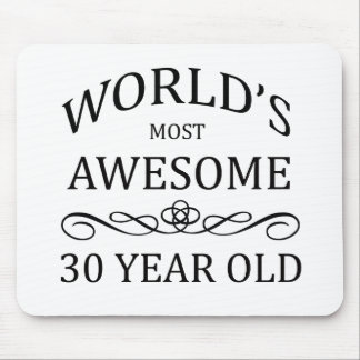World's Most Awesome 30 Year Old Mouse Pad