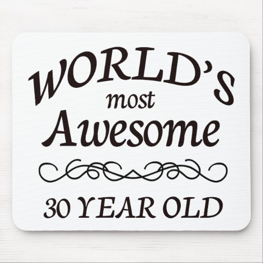 World's Most Awesome 30 Year Old Mousepads