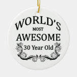 World's Most Awesome 30 Year Old Christmas Tree Ornament