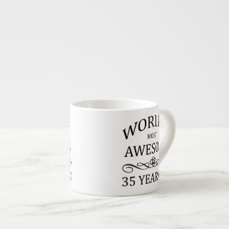 World's Most Awesome 35 Year Old Espresso Cup