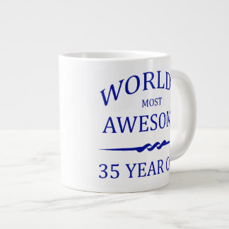 World's Most Awesome 35 Year Old Giant Coffee Mug