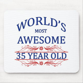 World's Most Awesome 35 Year Old Mouse Pad