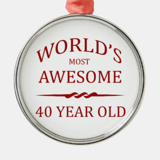 World's Most Awesome 40 Year Old Christmas Ornaments