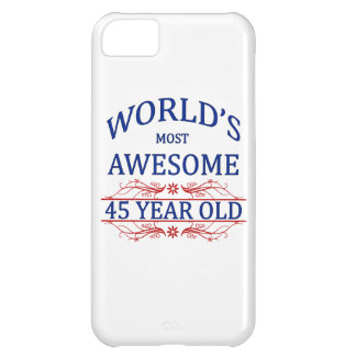 World's Most Awesome 45 Year Old iPhone 5C Cover