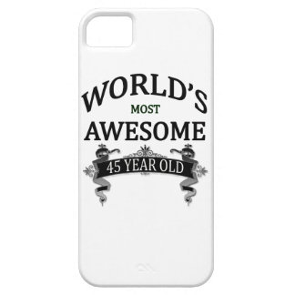 World's Most Awesome 45 Year Old iPhone SE/5/5s Case