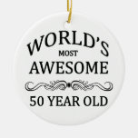 World's Most Awesome 50 Year Old Ceramic Ornament