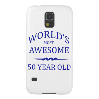 World's Most Awesome 50 Year Old Galaxy S5 Cover