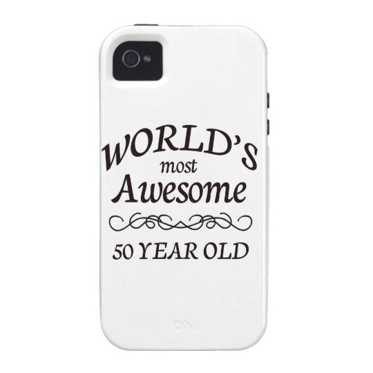 World's Most Awesome 50 Year Old iPhone 4/4S Case