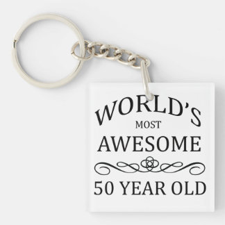 World's Most Awesome 50 Year Old Keychain