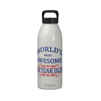 World's Most Awesome 50 Year Old Drinking Bottle