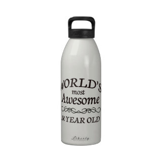 World's Most Awesome 50 Year Old Water Bottles
