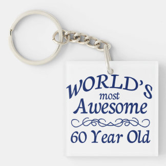 World's Most Awesome 60 Year Old Keychain