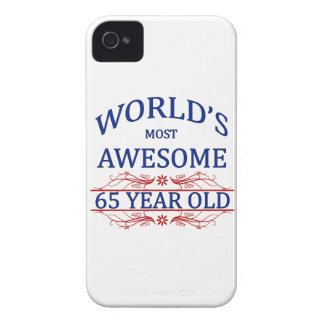 World's Most Awesome 65 Year Old Case-Mate iPhone 4 Case