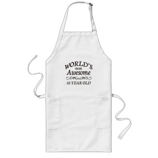 World's Most Awesome 65 Year Old Long Apron