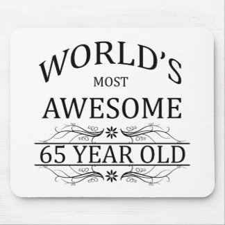 World's Most Awesome 65 Year Old Mouse Pad
