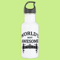 World's Most Awesome 65 Year Old Water Bottle