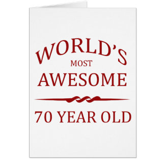 World's Most Awesome 70 Year Old Cards