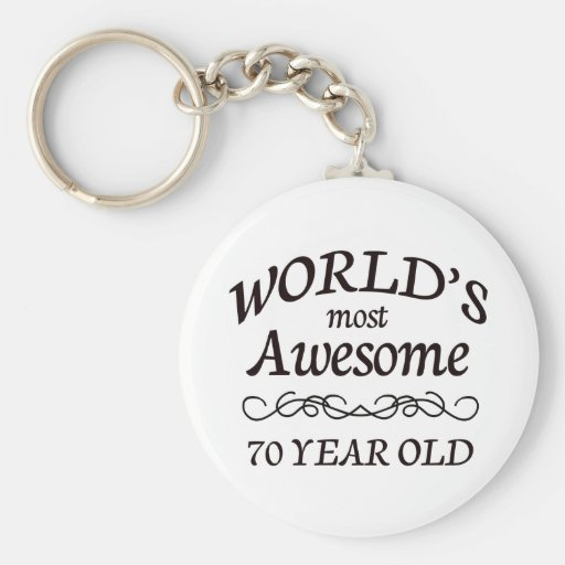 World's Most Awesome 70 Year Old Keychain