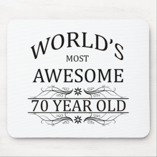 World's Most Awesome 70 Year Old Mouse Pad