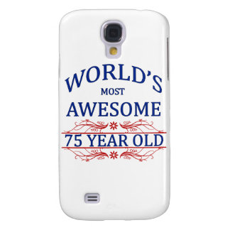 World's Most Awesome 75 Year Old Galaxy S4 Cover