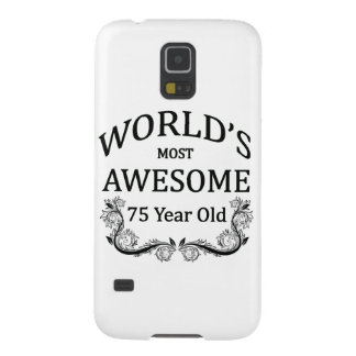 World's Most Awesome 75 Year Old Galaxy S5 Cases