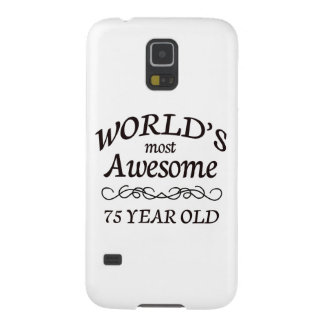 World's Most Awesome 75 Year Old Galaxy S5 Cover