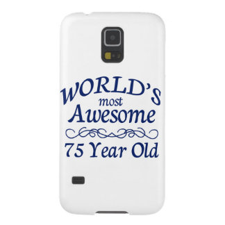World's Most Awesome 75 Year Old Galaxy S5 Covers