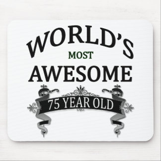 World's Most Awesome 75 Year Old Mouse Pad