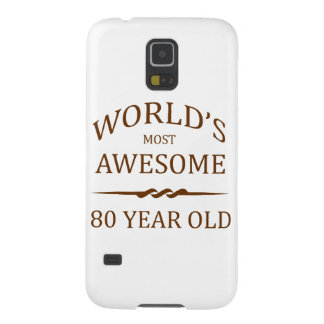 World's Most Awesome 80 Year Old Galaxy S5 Case