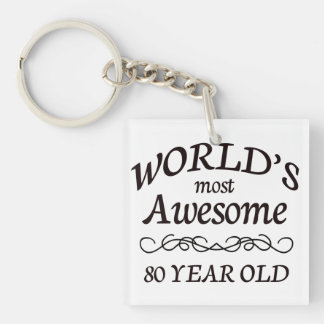 World's Most Awesome 80 Year Old Keychain