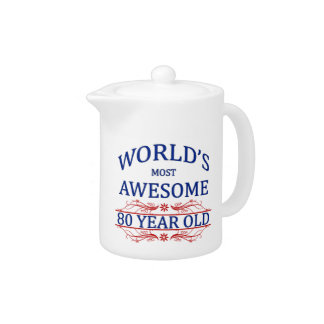 World's Most Awesome 80 Year Old Teapot