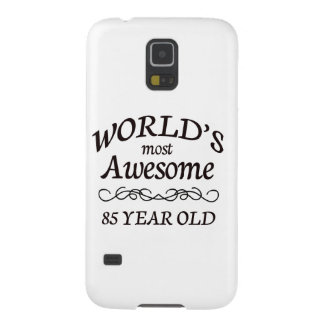 World's Most Awesome 85 Year Old Galaxy S5 Cover