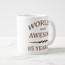 World's Most Awesome 85 Year Old Giant Coffee Mug