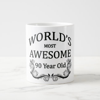 World's Most Awesome 90 Year Old Giant Coffee Mug