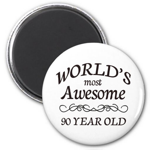 World's Most Awesome 90 Year Old Magnets