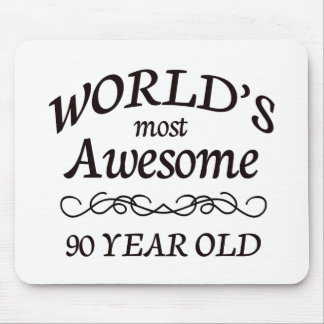World's Most Awesome 90 Year Old Mouse Pad