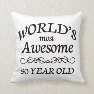 World's Most Awesome 90 Year Old Pillow