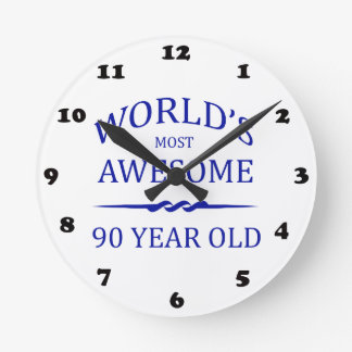 World's Most Awesome 90 Year Old Round Clock