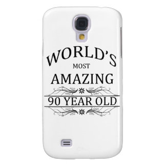 World's Most Awesome 90 Year Old Samsung Galaxy S4 Case