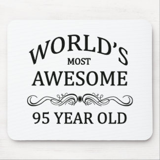 World's Most Awesome 95 Year Old Mouse Pad