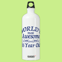 World's Most Awesome 95 Year Old Water Bottle