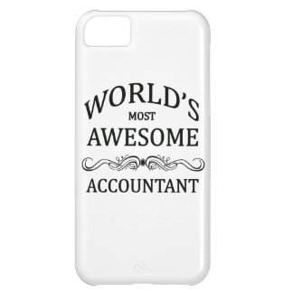 World's Most Awesome Accountant iPhone 5C Cover