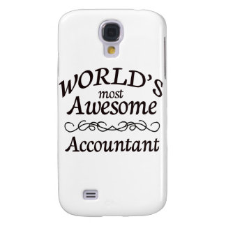World's Most Awesome Accountant Samsung S4 Case
