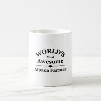 World's most awesome Alpaca Farmer Coffee Mug