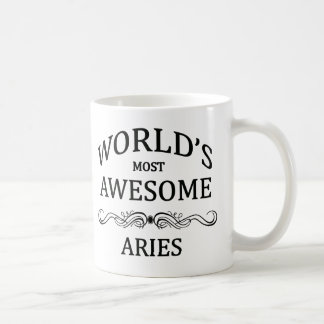 World's Most Awesome Aries Coffee Mug