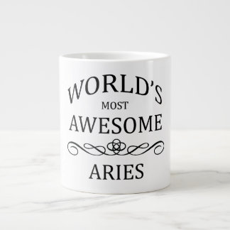 World's Most Awesome Aries Giant Coffee Mug