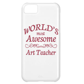 World's Most Awesome Art Teacher Case For iPhone 5C