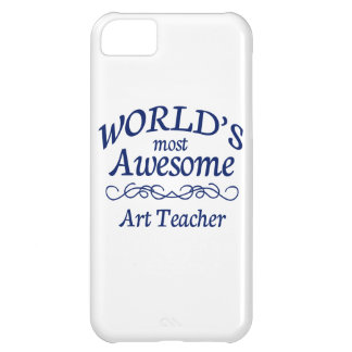 World's Most Awesome Art Teacher iPhone 5C Cover