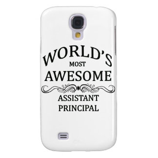 World's Most Awesome Assistant Principal Samsung S4 Case
